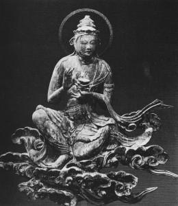 Bodhisattva on Clouds
